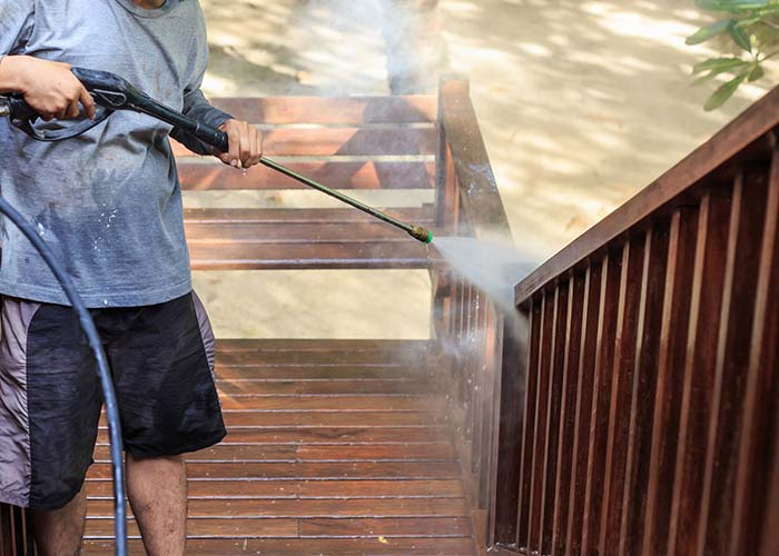deck pressure washing in west hartford
