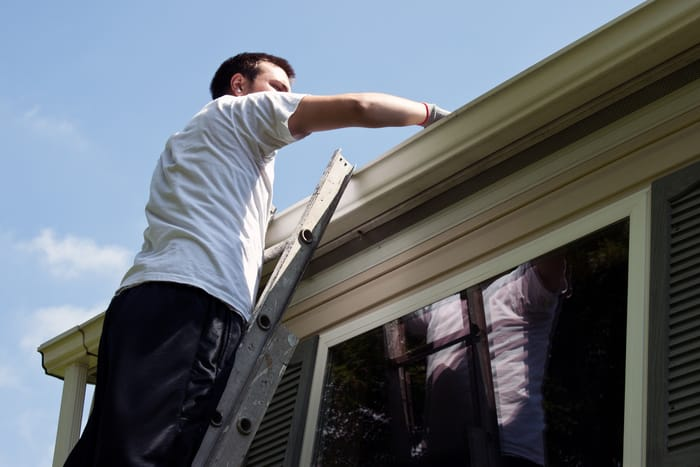 why cleaning a gutter in west hartford